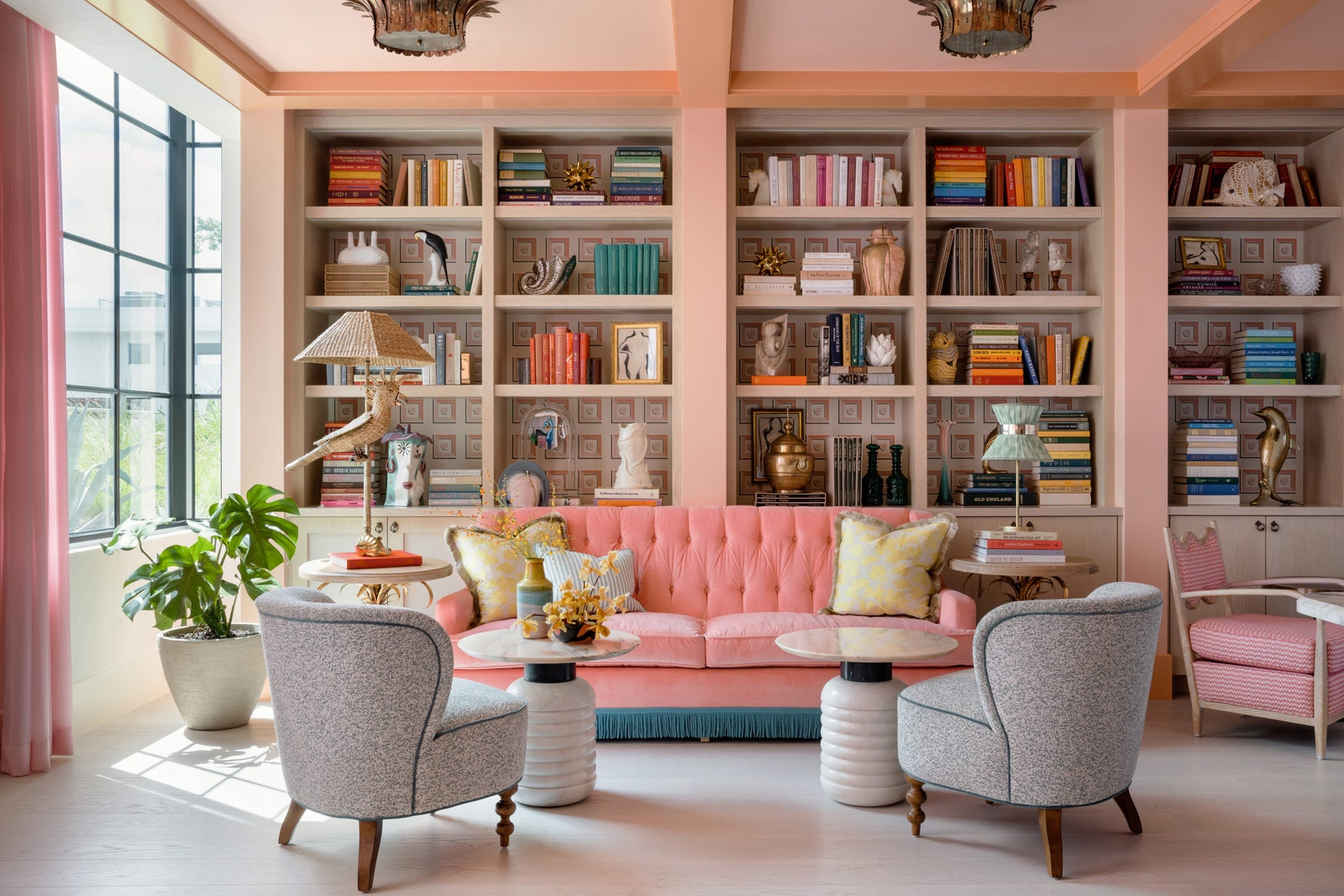 The Goodtime Hotel library